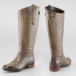Sam Edelman💕Penny Basto Crust Calf Boots Olive